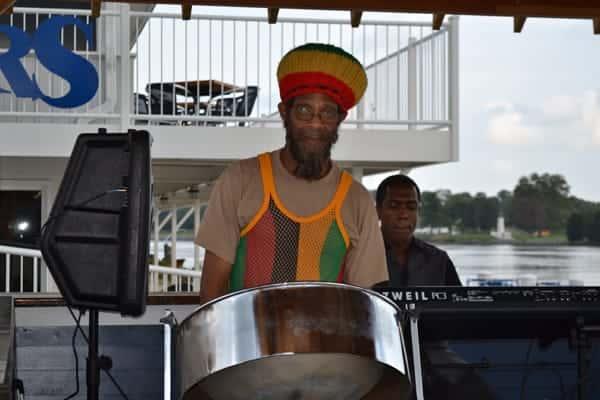 island vibes drummer