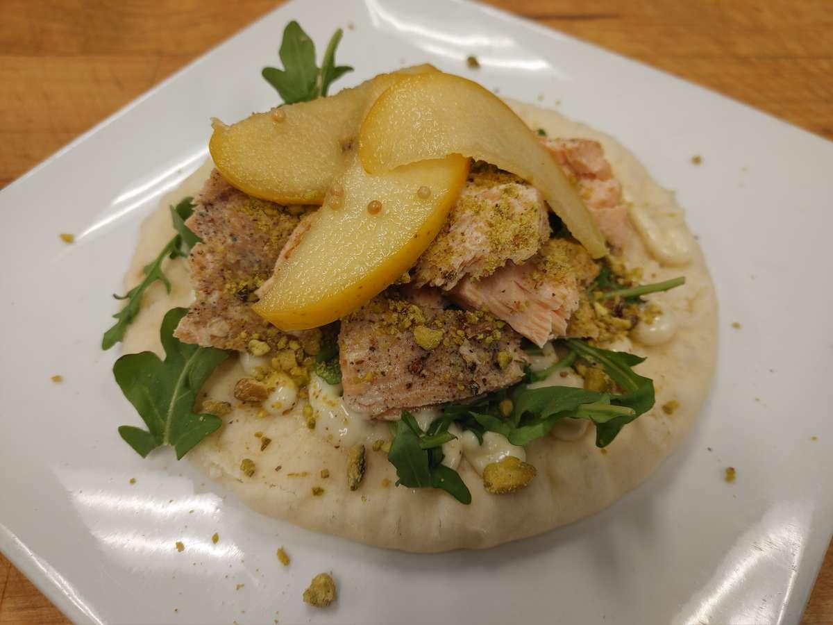 Smoked Salmon Pita