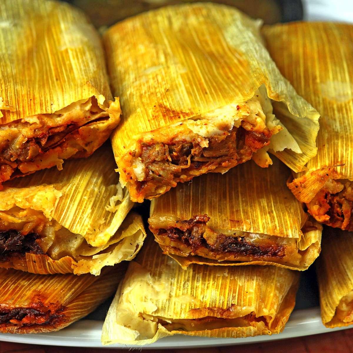 Beef Tamales