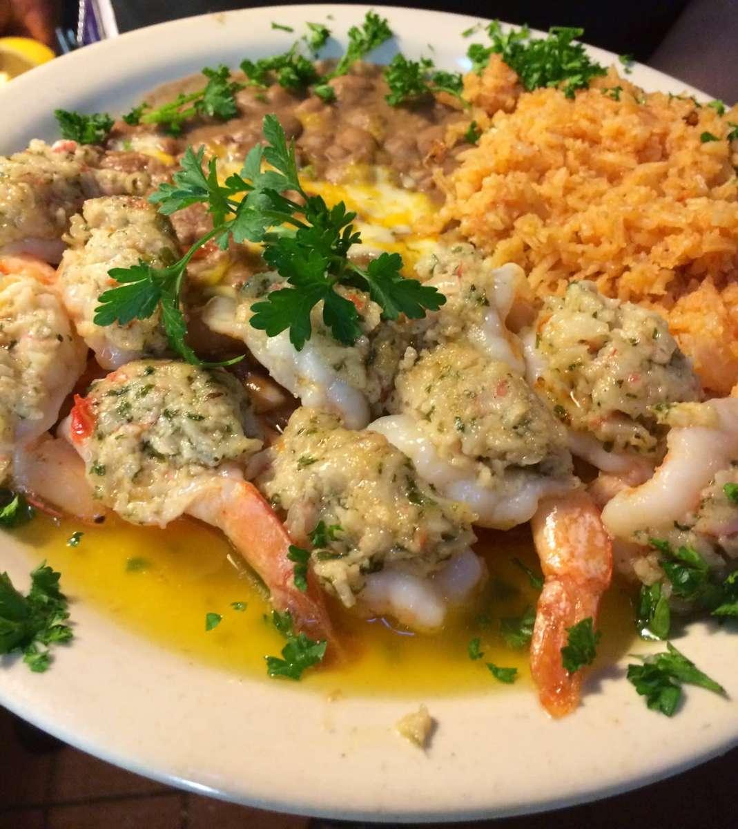 Shrimp Stuffed with Crab