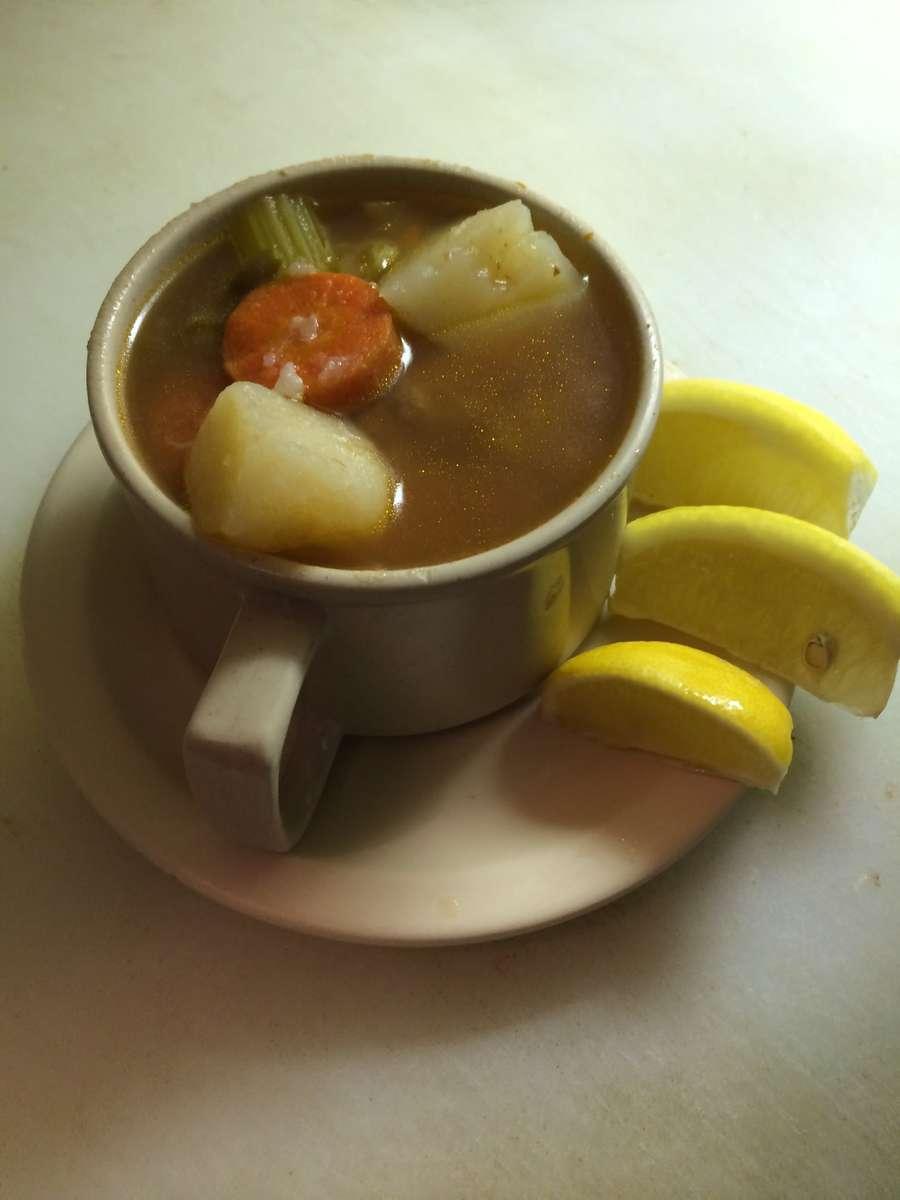 Albondigas Soup Cup