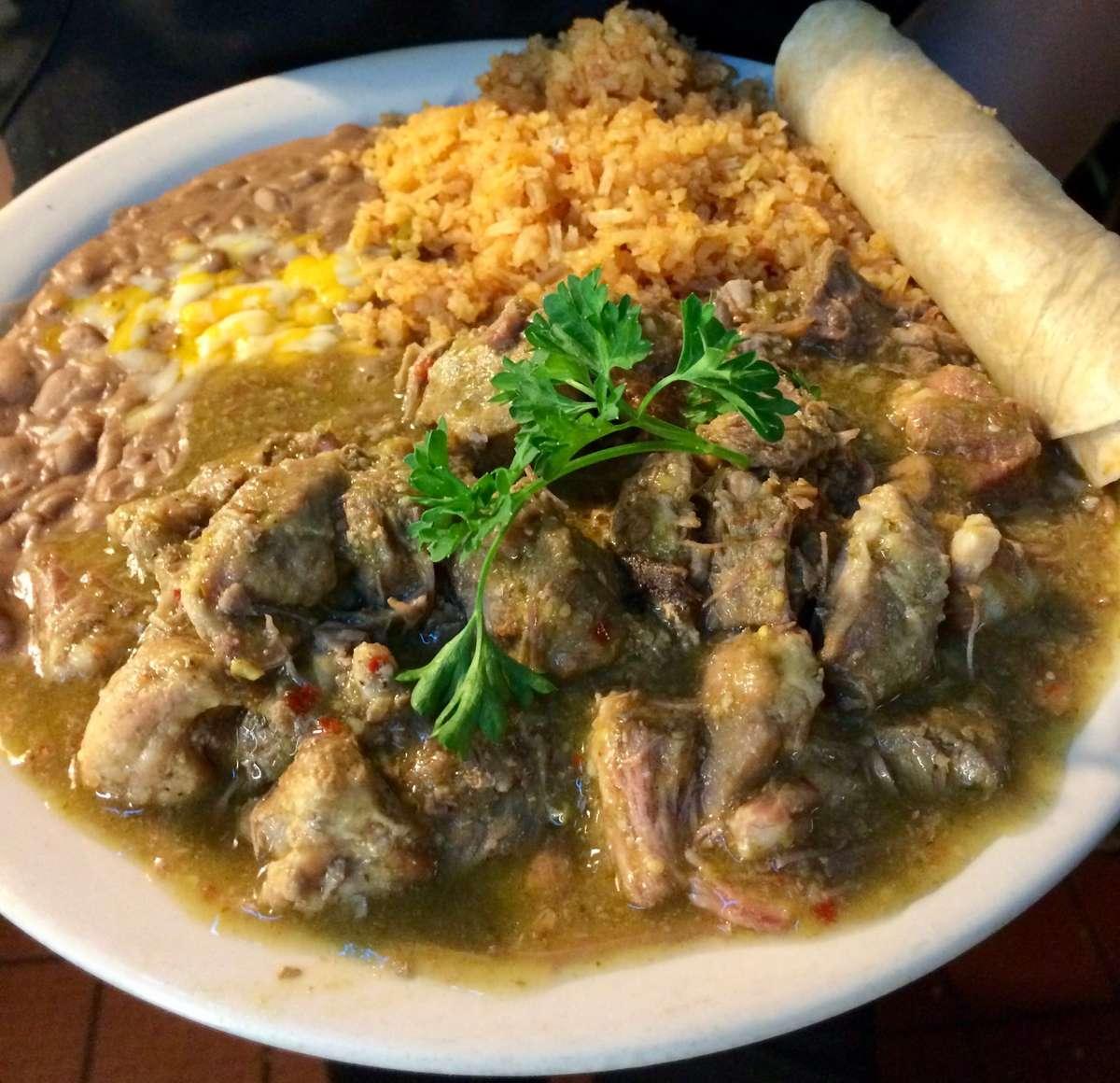 8. Carne Con Chile Verde