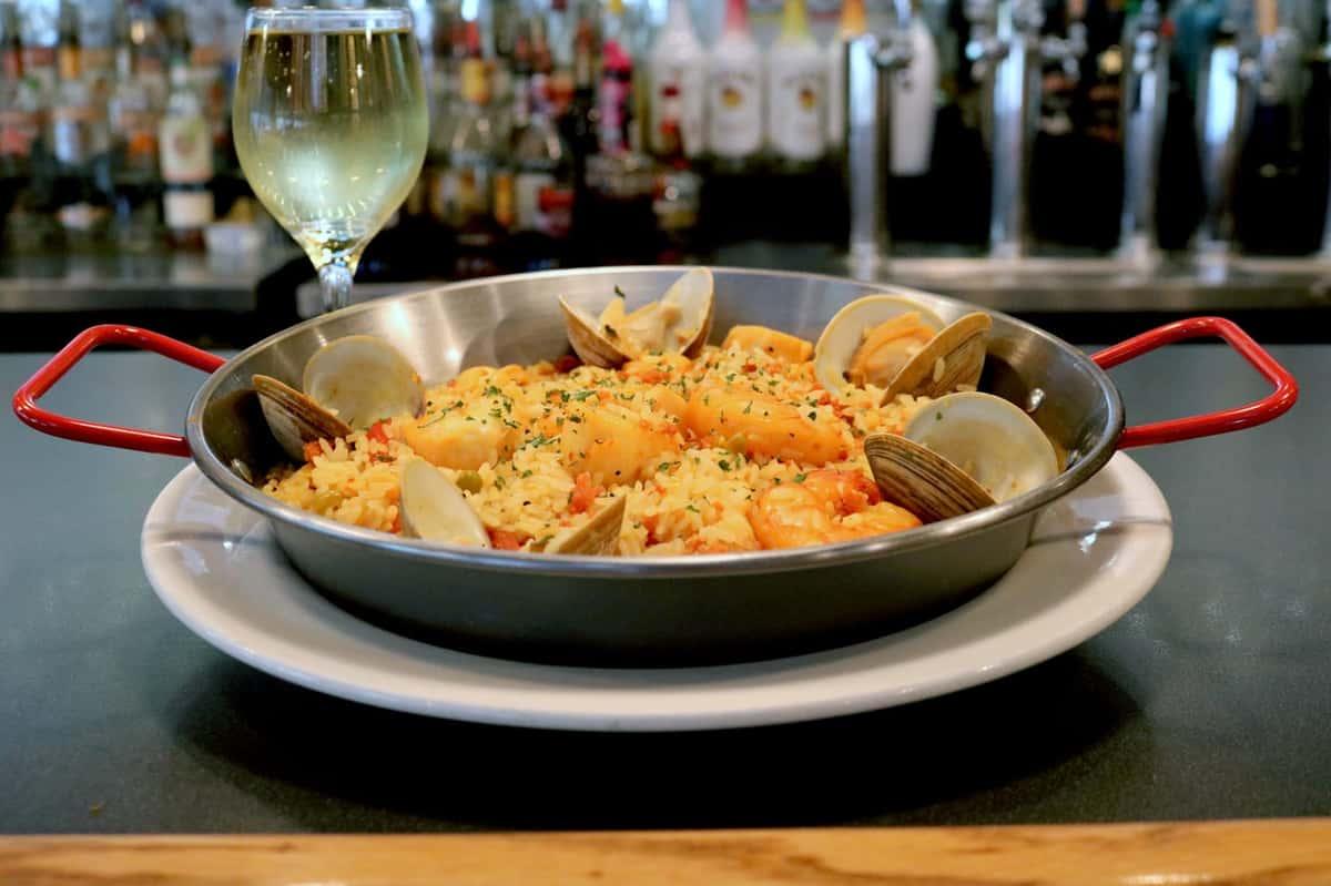seafaood paella