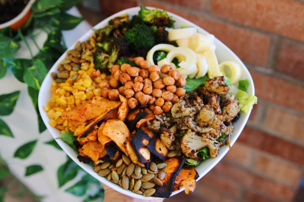 Shake your Cauliflower Salad