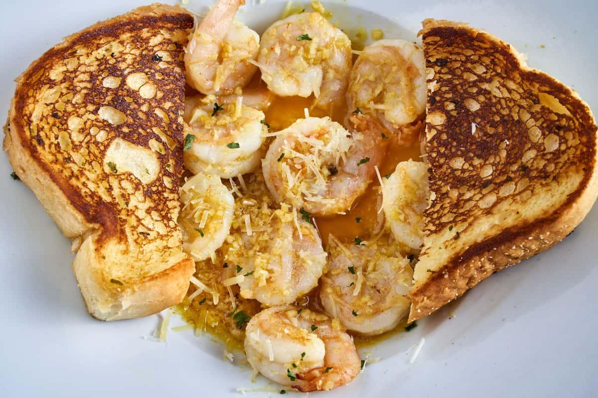 Sauteed Shrimp Platter