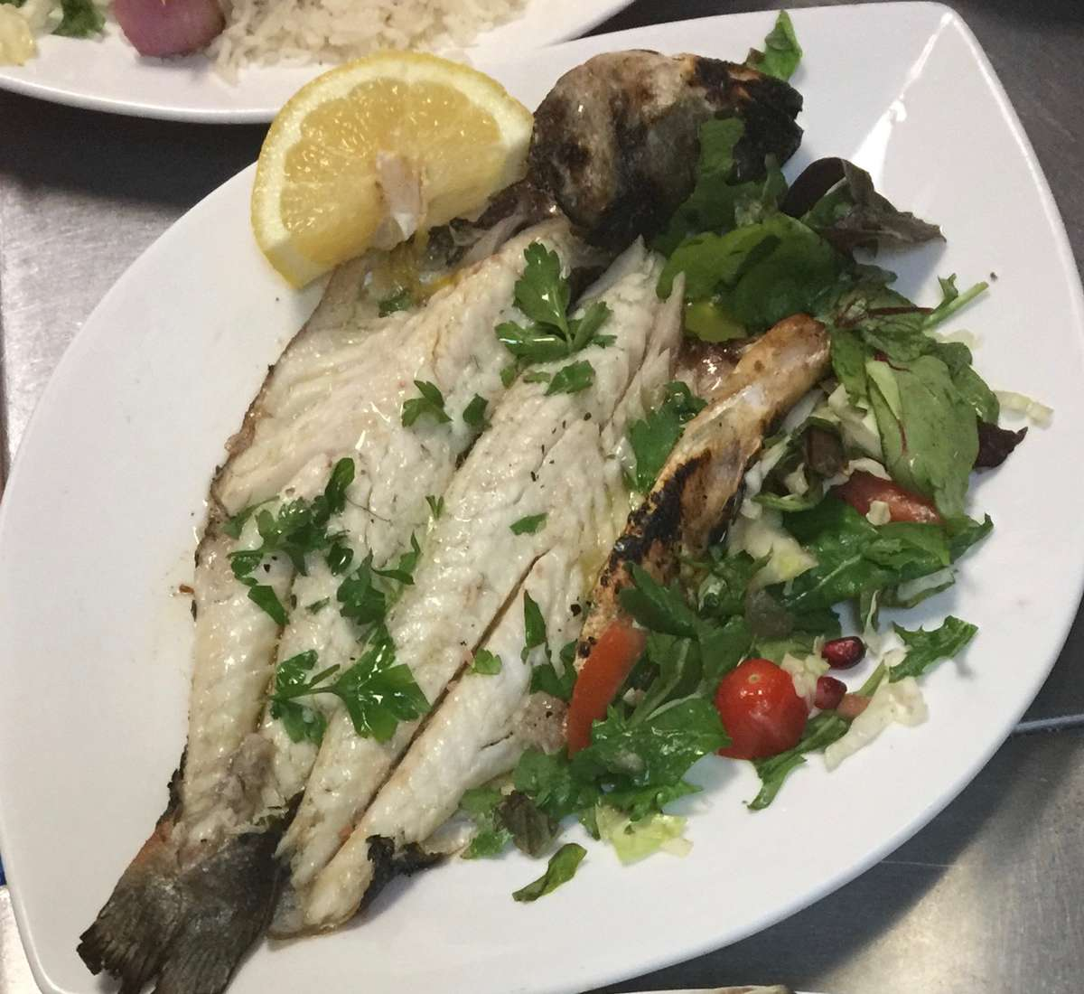 Lavraki- Greek Whole Seabass