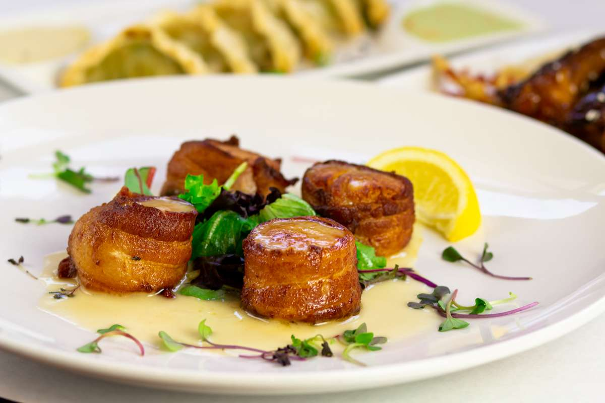 Bacon Wrapped Sea Scallops (gfo)