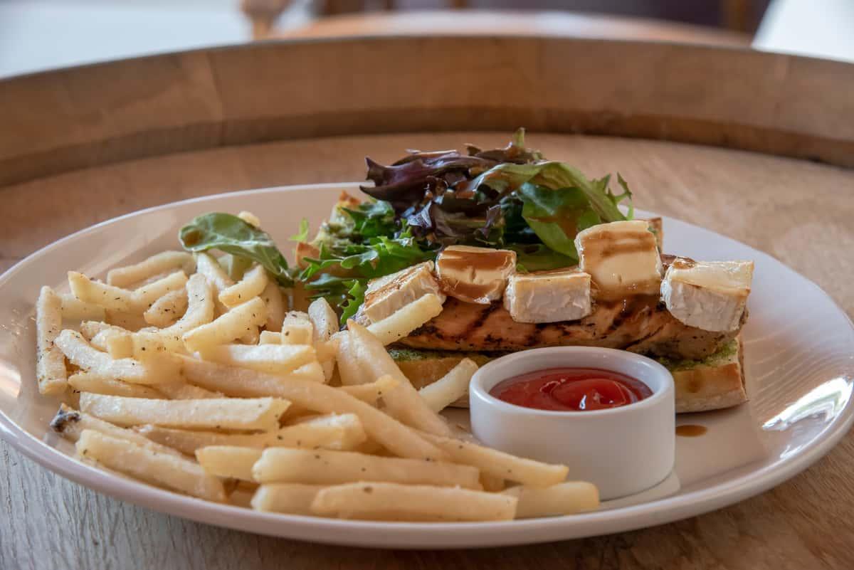 Chicken Pesto & Brie Sandwich
