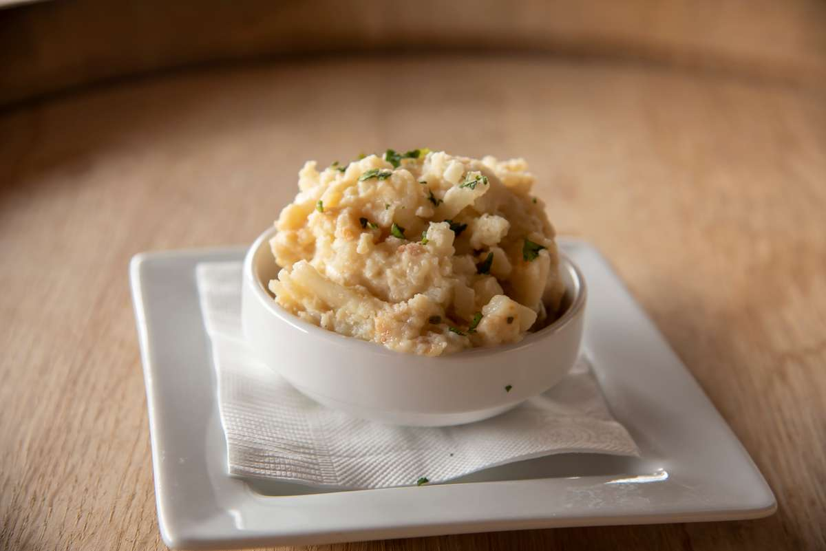 Sage & Gruyere Scallop Potatoes
