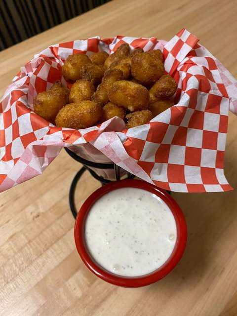 Spicy Cheese Curds