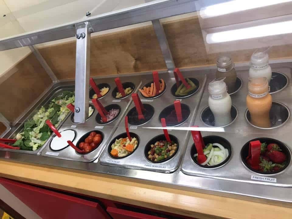 Small Salad Bar