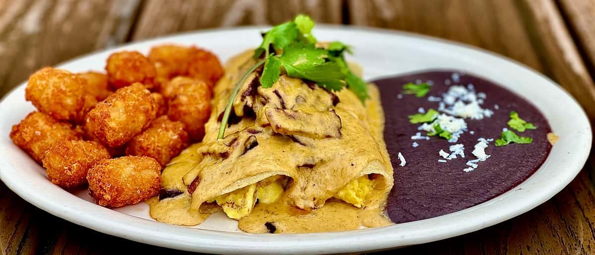 Bodega's Breakfast Enchiladas
