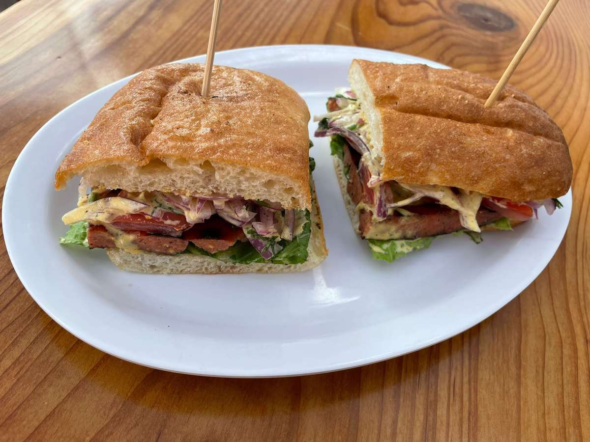 Choripan (Sausage Sandwich)