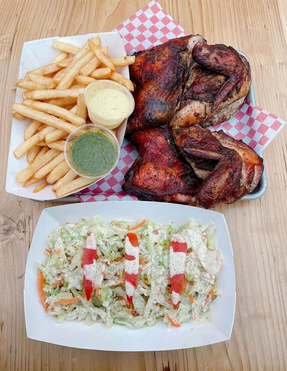 **Weekdays 5-9 ONLY** Pollo a Leña - Wood Fired Rotisserie Chicken