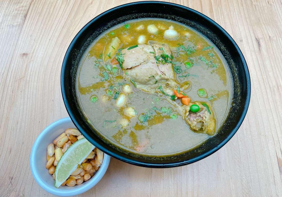 Aguadito de Pollo (Chicken Soup)
