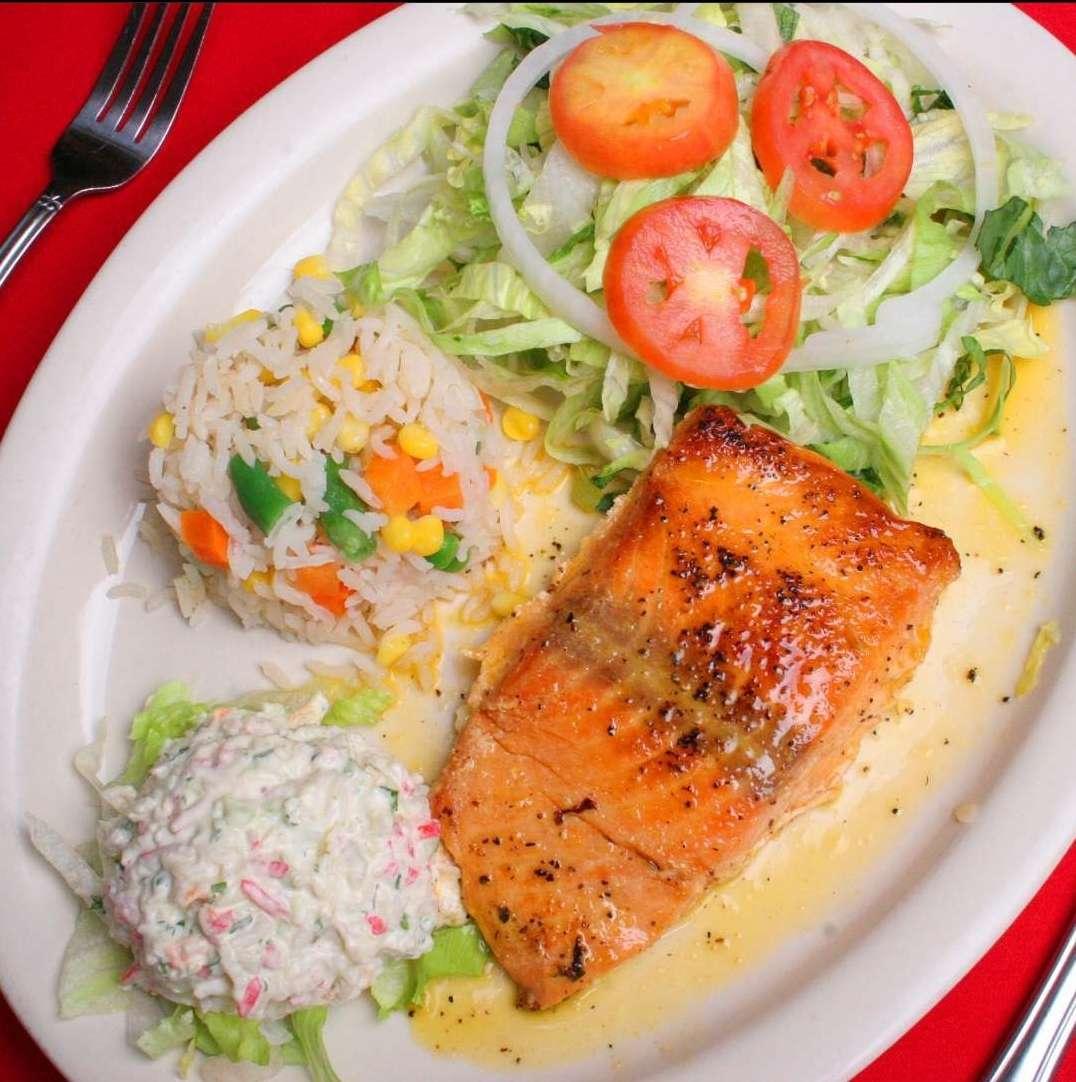 Salmon a La Parillia 8 Oz