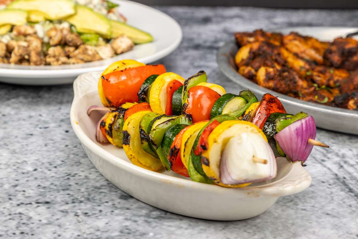 Grilled Vegetable Skewer