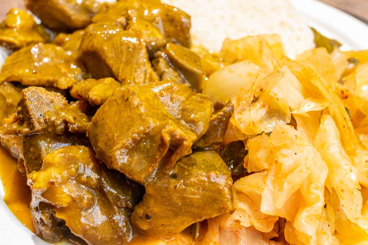 Side of Curry Goat