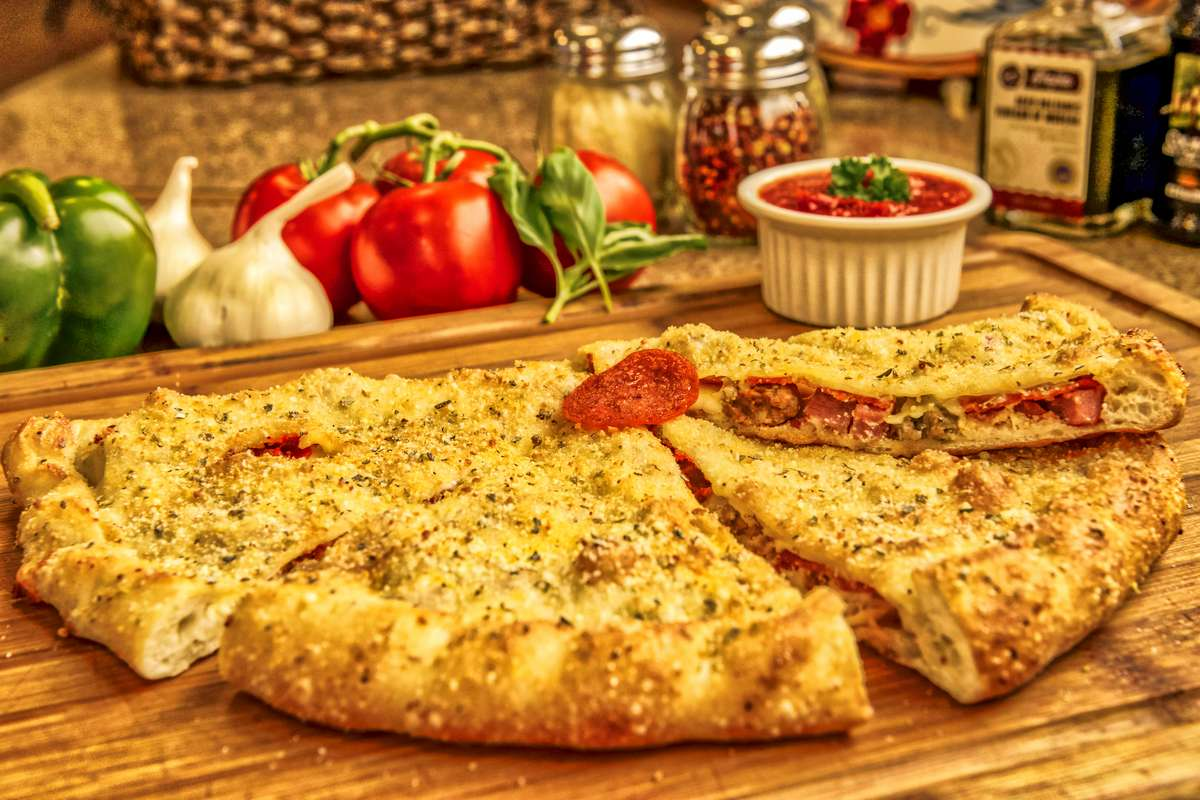 The Meaty Calzone