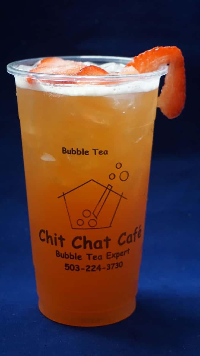 Strawberry Bubble Iced Tea 草莓珍珠冰茶
