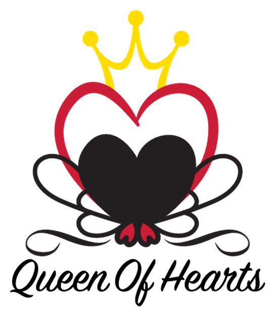 queen of hearts logo