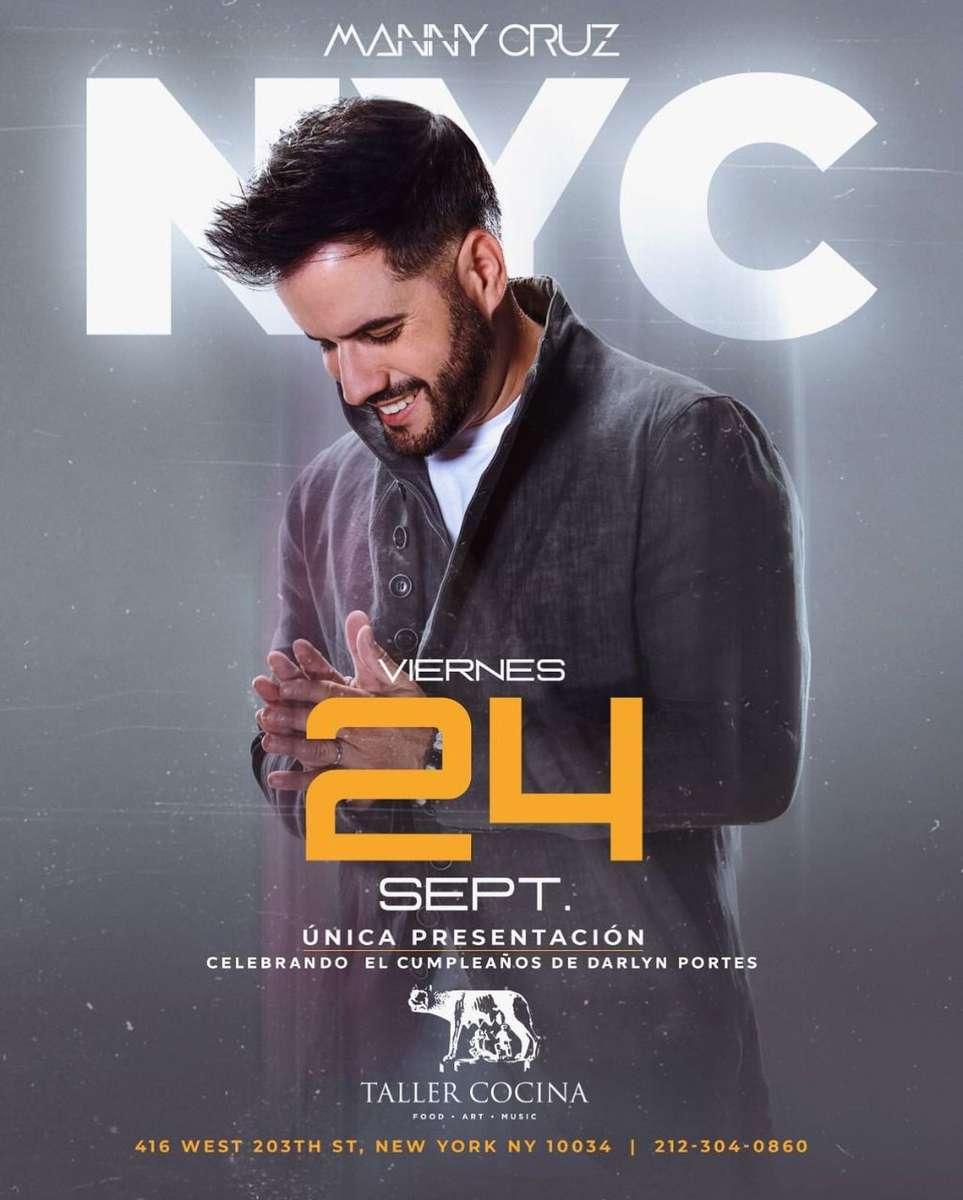 Manny Cruz Tickets 9/24