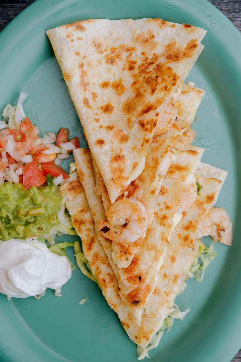 Grilled Shrimp Quesadilla