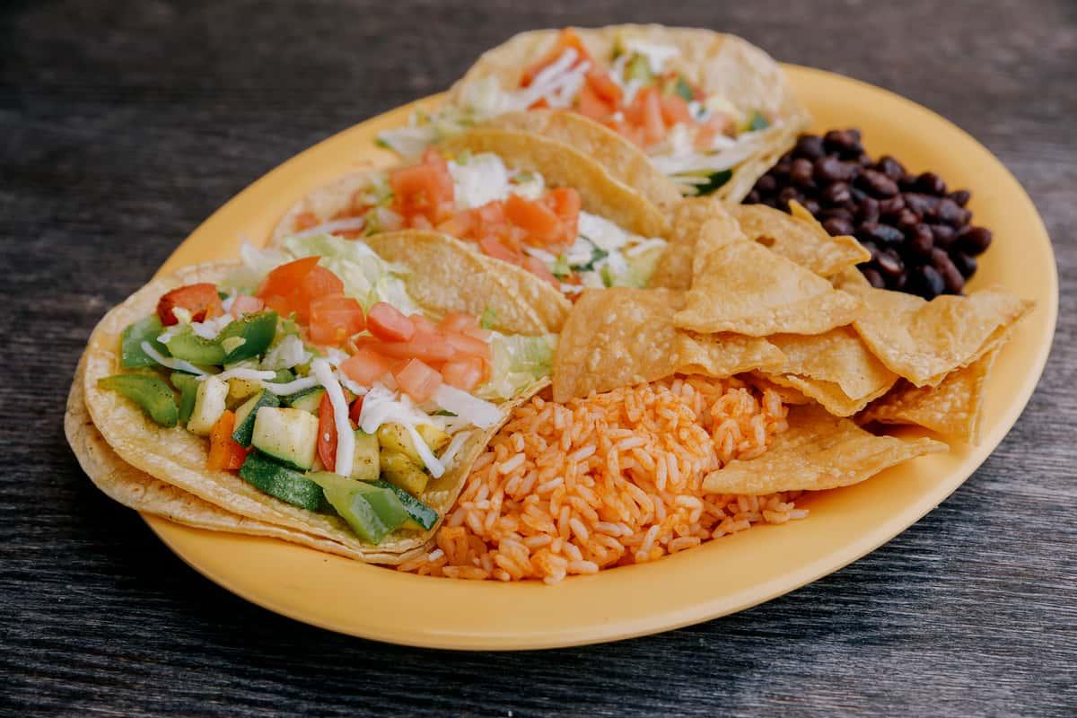 Grilled Veggie Taco
