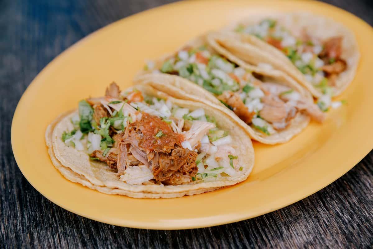 Pork Little Village Taco