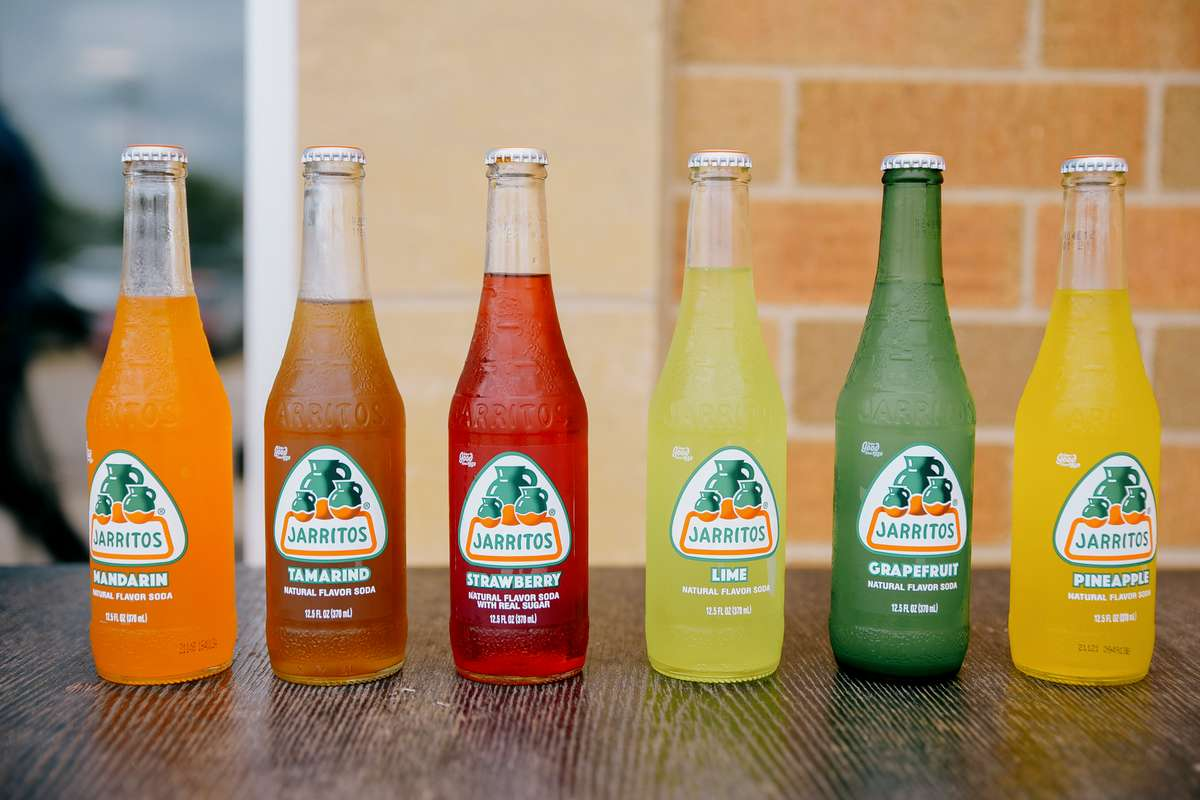 variety of jarritos drinks