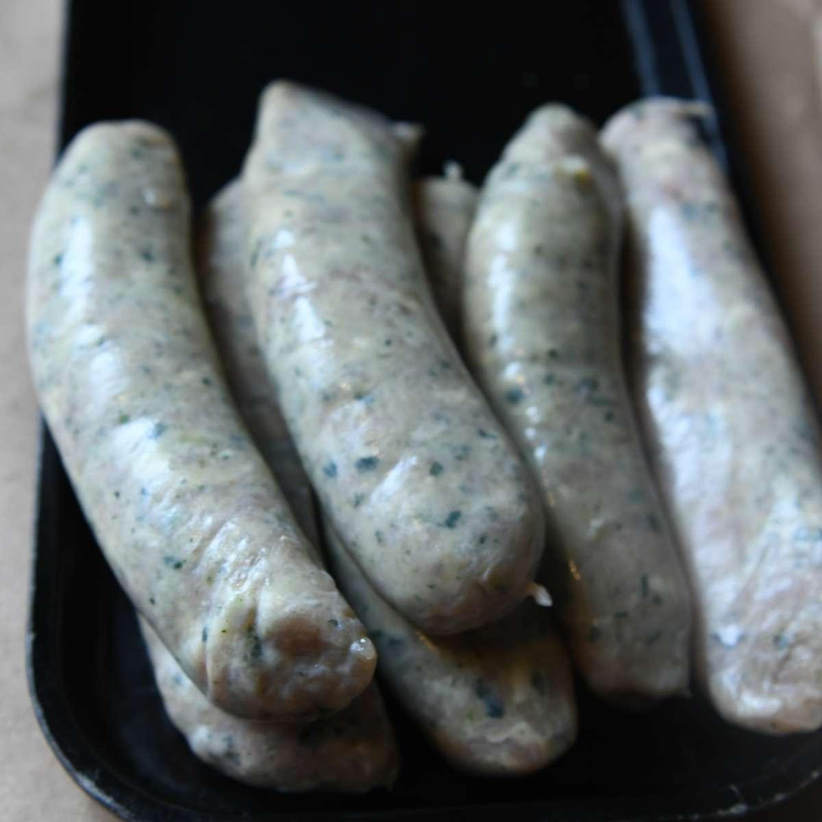 Ash Farms Spinach and Feta Sausage