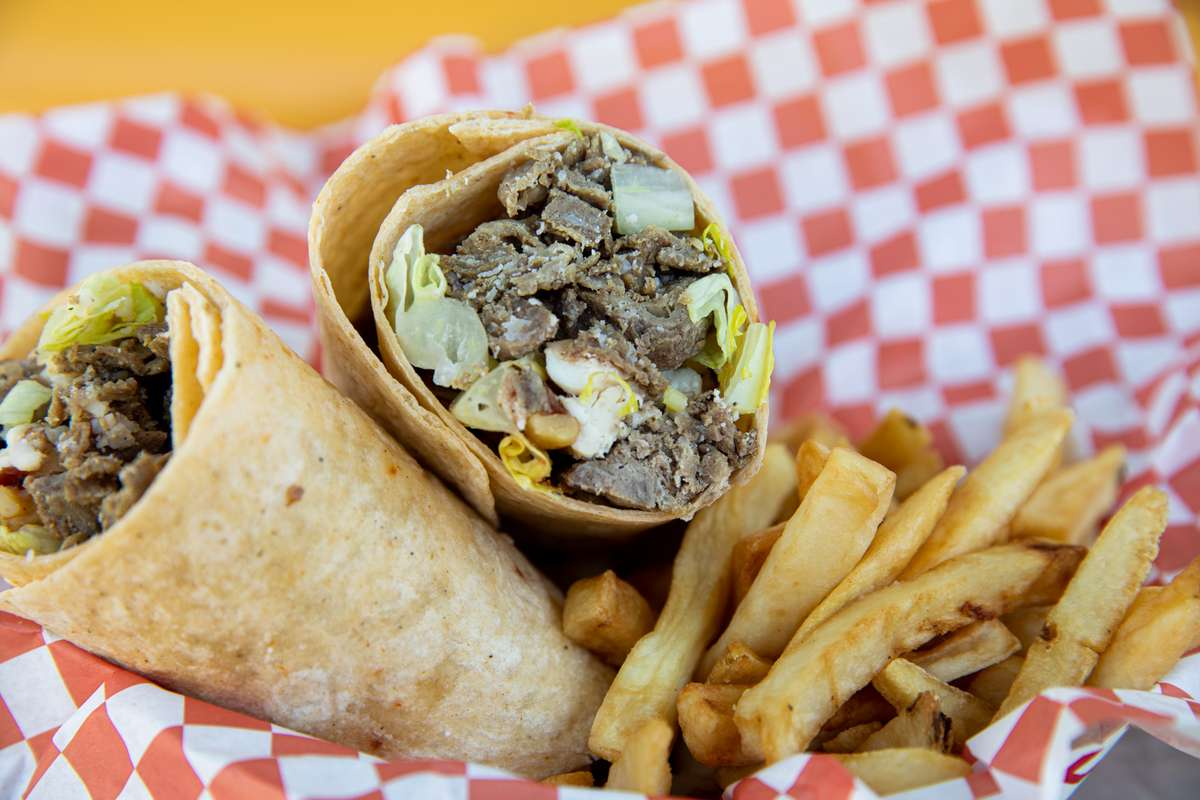 philly cheesesteak wrap