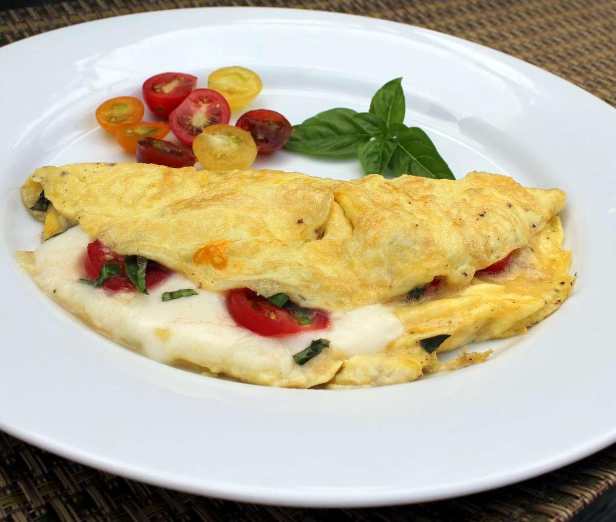 Bruschetta Omelet