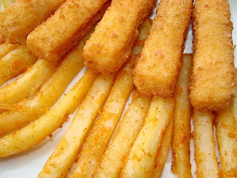 K- Fish Sticks & Fries