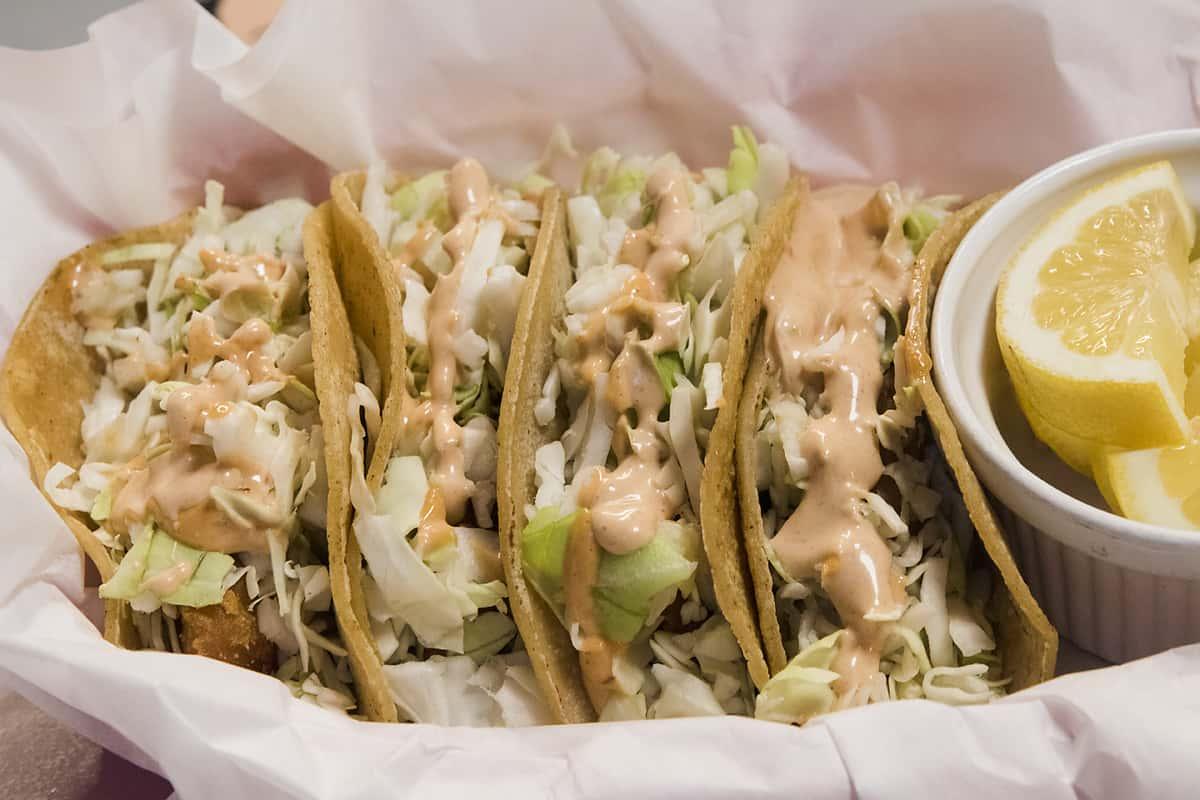 Fish Taco Basket