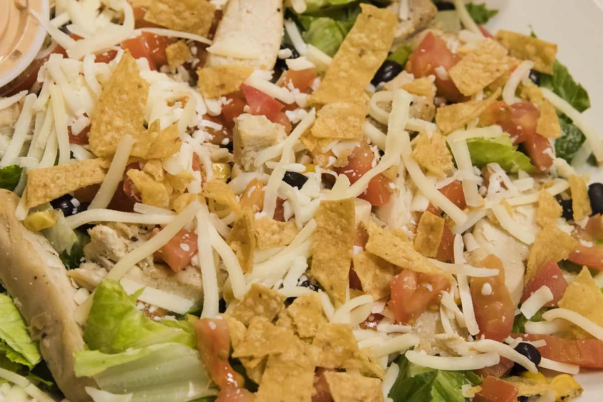 Southwest Chicken Taco Salad