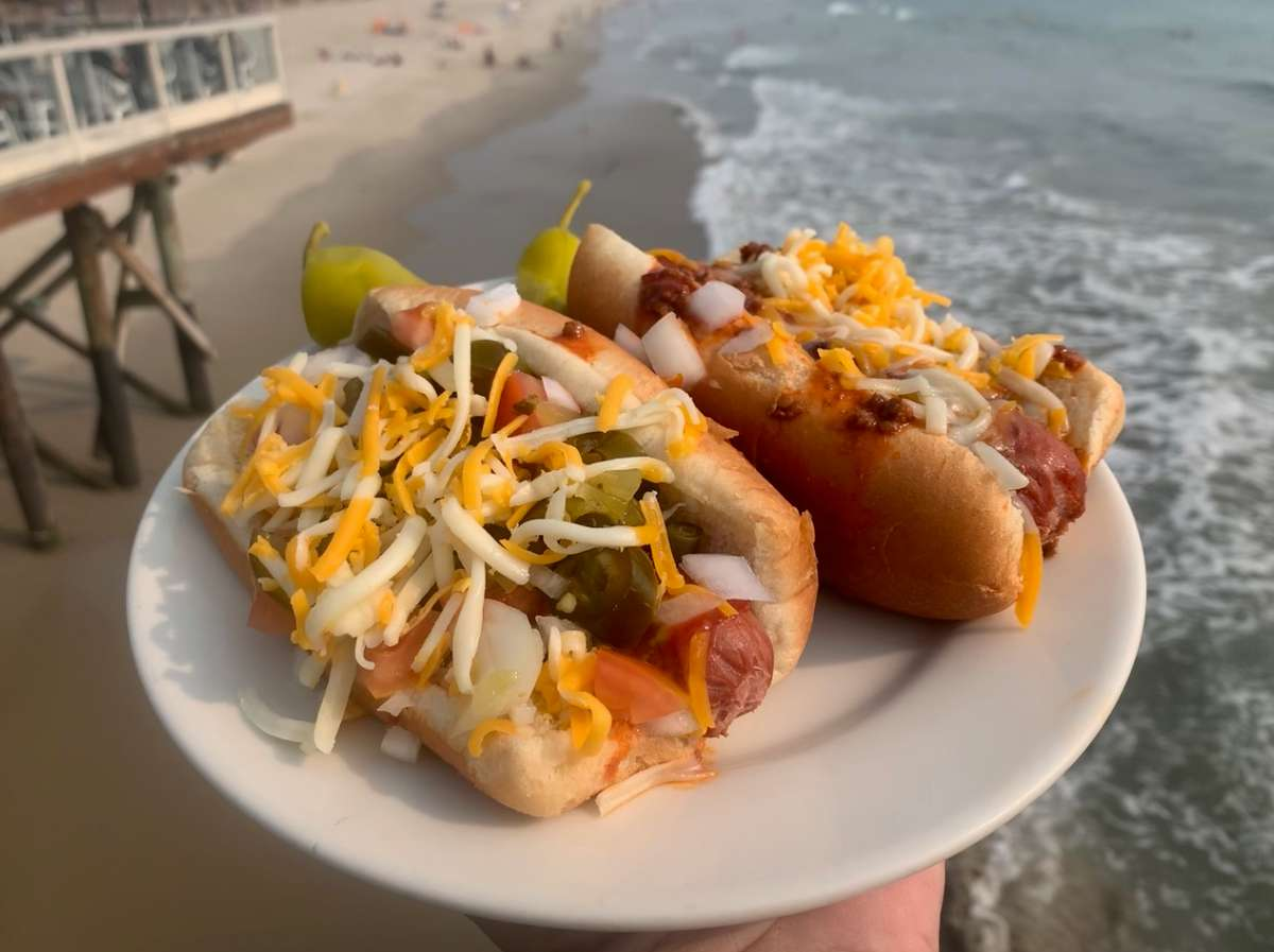 Hot Dogs with all the fixins