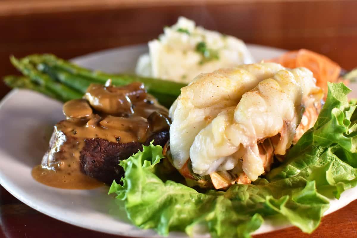 Filet Mignon & Lobster