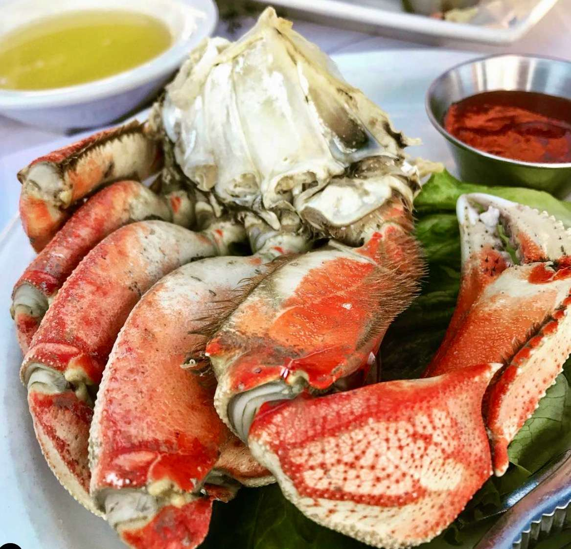 Half-Cracked Dungeness Crab