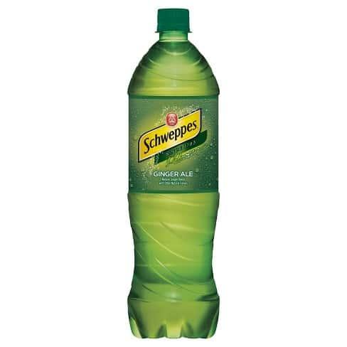 Schweppes Ginger Ale (20 oz Bottle)