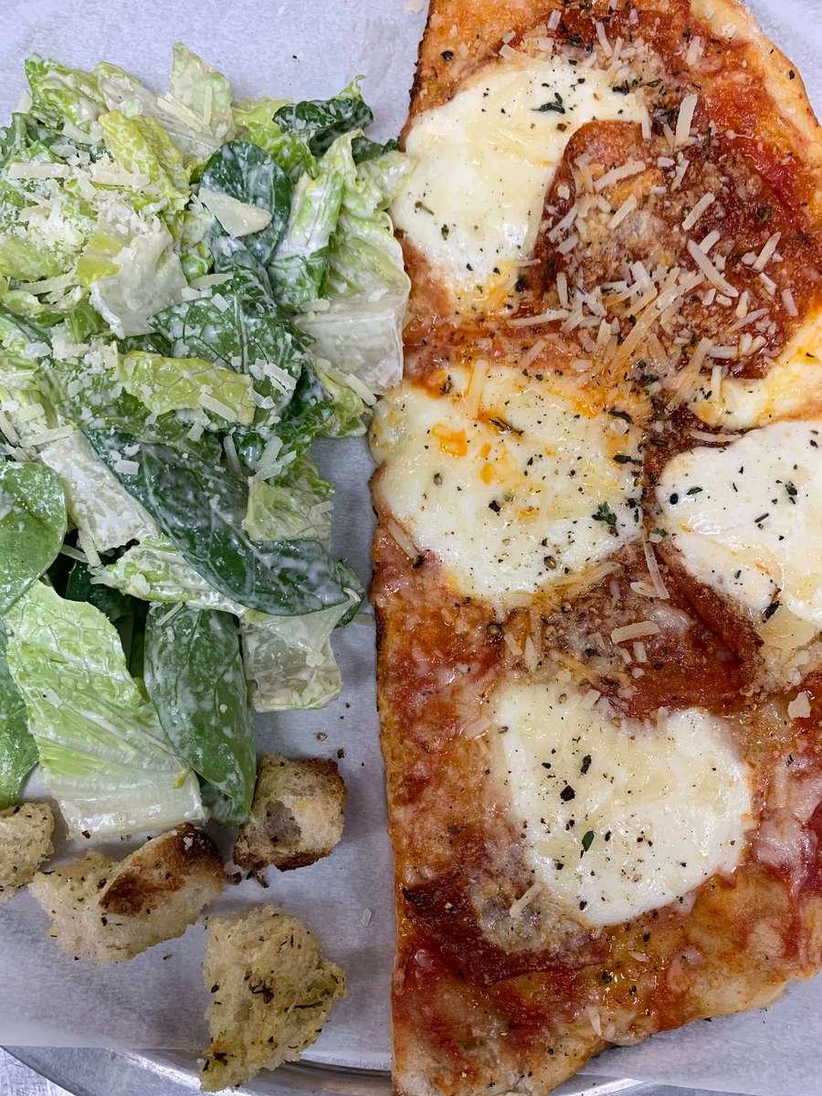 1/2 Margherita or Pepperoni Pizza