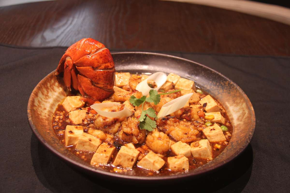Sichuan Style Lobster Mapo Tofu