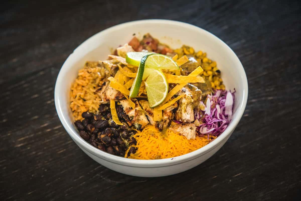 Cilantro Lime Chicken Mexican Bowl (GF)