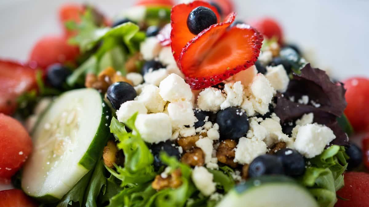 Melon-Berry Salad