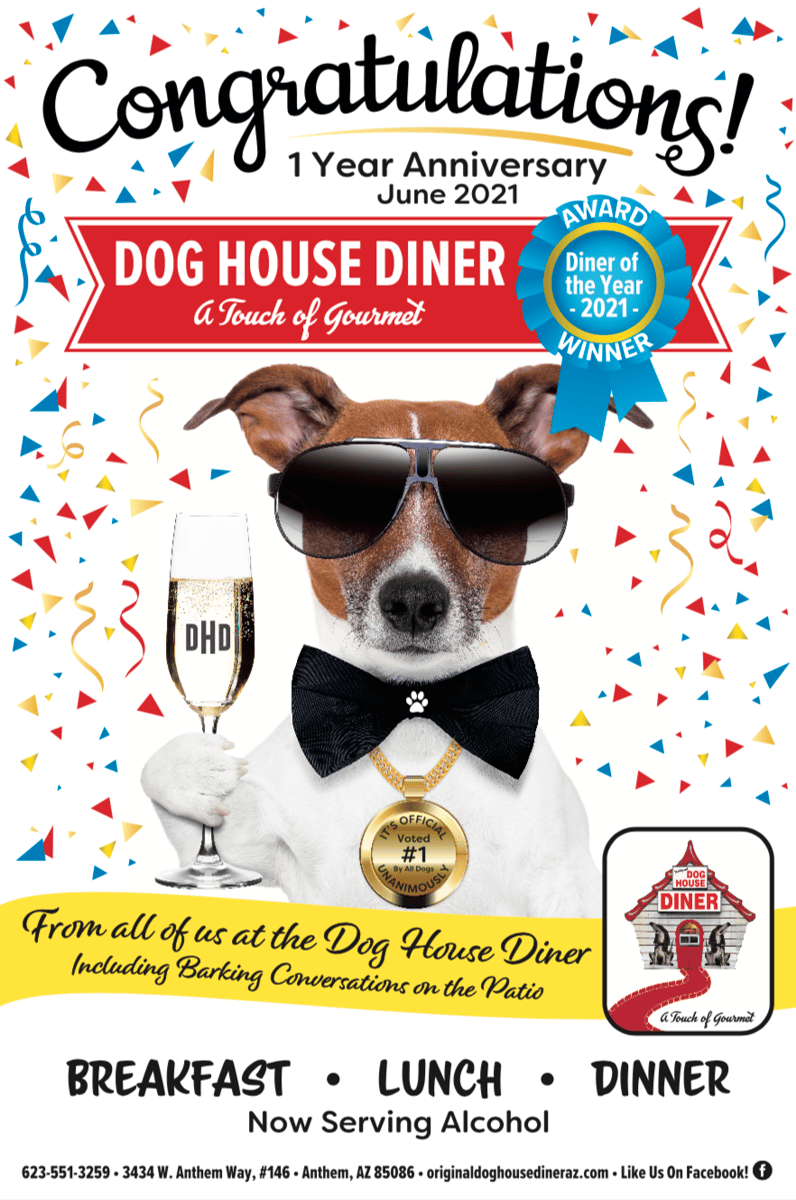 Diner of the Year!