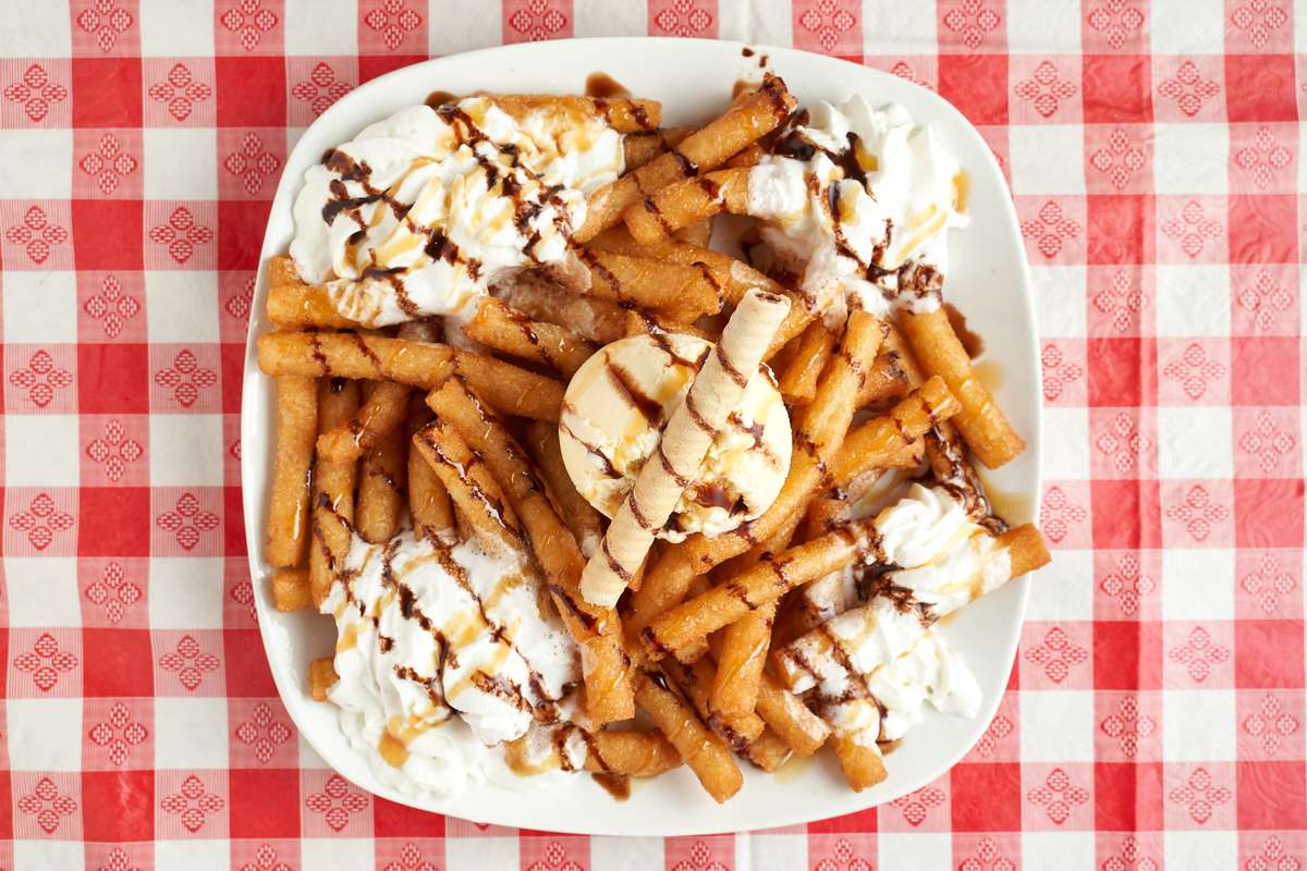 Shareable Funnel Fries