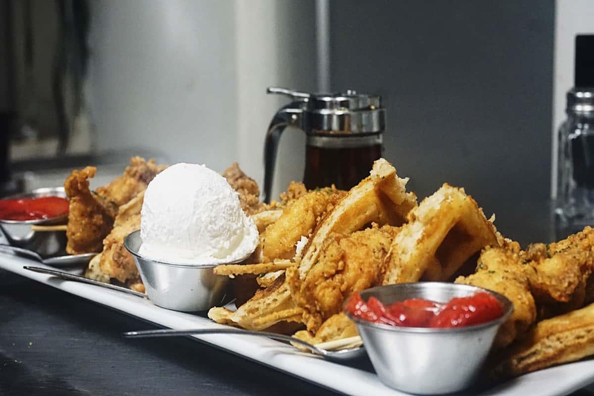 fried food platter