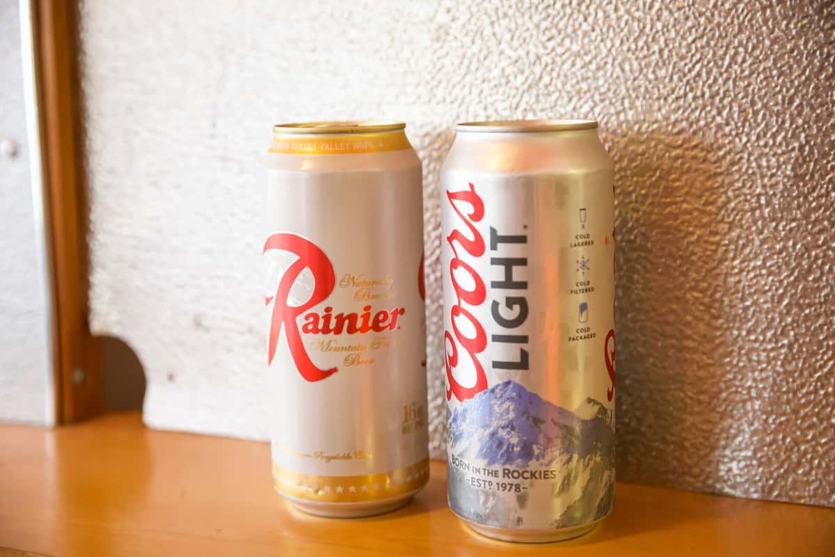 Rainier or Coors Light