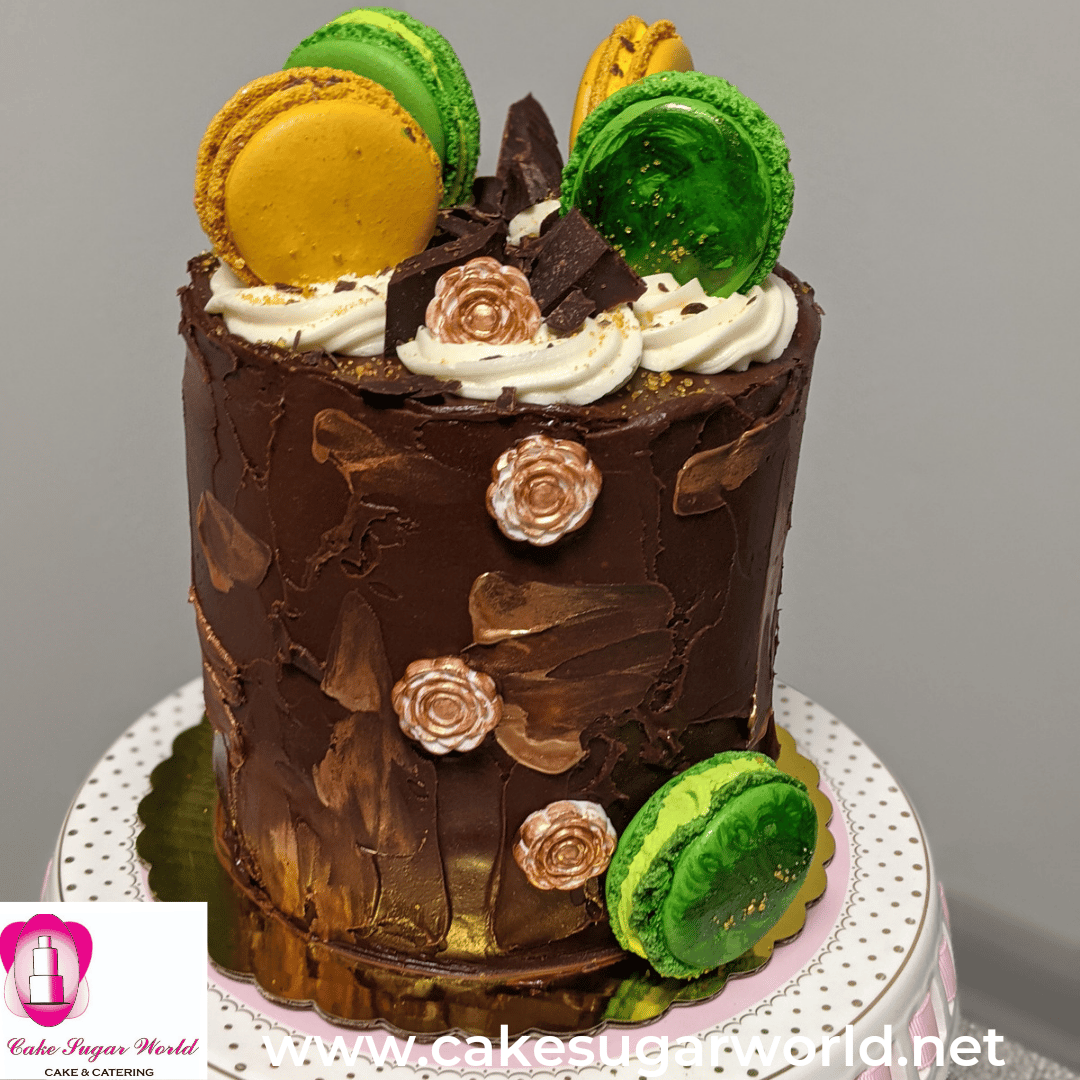 Chocolate Buttercream Cake GF