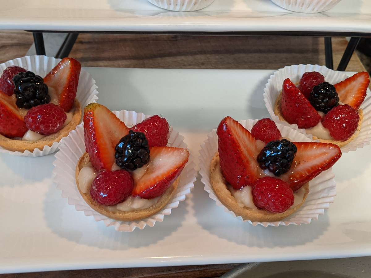 Berry Tartlet- Vegan and Gluten Free